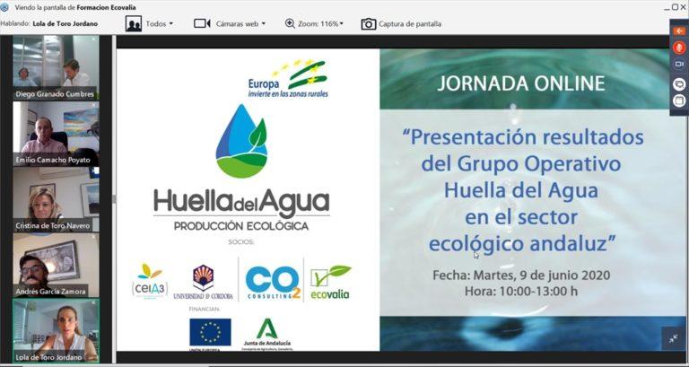 'Huella del agua' en el sector ecológico
