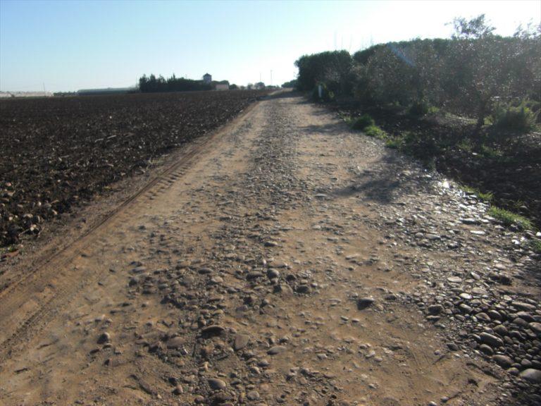 Mejora camino límite norte El Villar